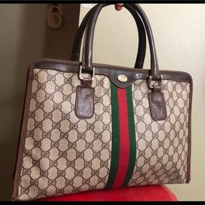 Gucci Ophidia Boston Vintage Web Bag Tote
